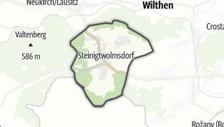 מפה / Steinigtwolmsdorf