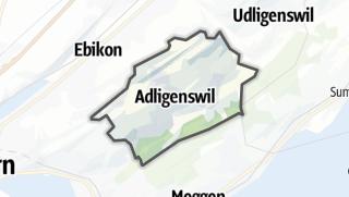 מפה / Adligenswil