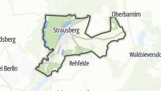 Cartina / Strausberg