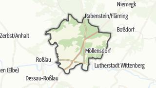 Mapa / Coswig (Anhalt)