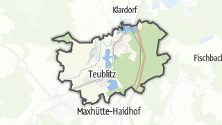 Mapa / Teublitz