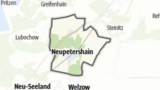 Cartina / Neupetershain