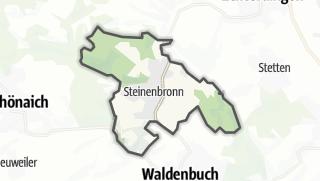 Mapa / Steinenbronn