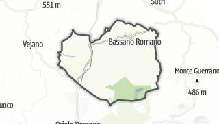 Hartă / Bassano Romano