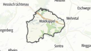 Carte / Waldkappel