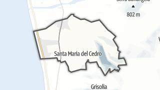 Térkép / Santa Maria del Cedro