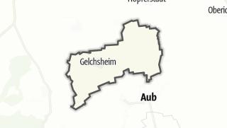 Mapa / Gelchsheim