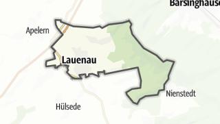 Mapa / Lauenau