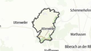 地图 / Attenweiler