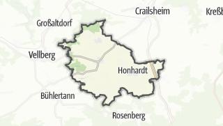 מפה / Frankenhardt