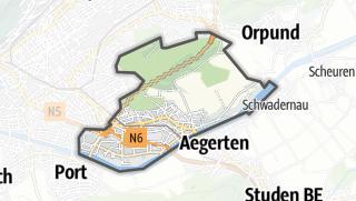 地图 / Brügg