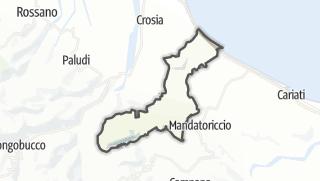 Térkép / Pietrapaola