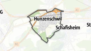 מפה / Hunzenschwil