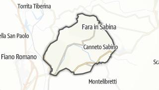 Mapa / Fara in Sabina