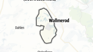 Mapa / Berod bei Wallmerod