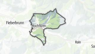 Karte / Hochfilzen