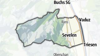 地图 / Sevelen