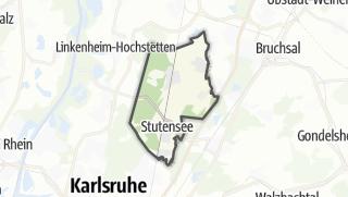 Mapa / Stutensee
