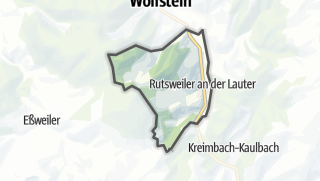 Karte / Rutsweiler an der Lauter