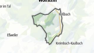 מפה / Rutsweiler an der Lauter