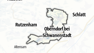 Mapa / Oberndorf bei Schwanenstadt