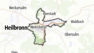 地图 / Weinsberg