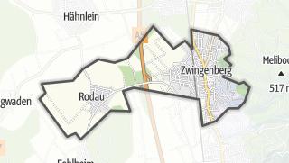 Karte / Zwingenberg