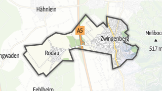 Carte / Zwingenberg
