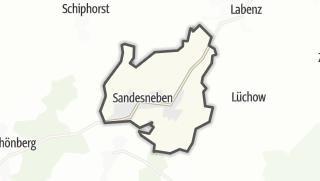 地图 / Sandesneben