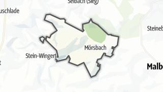 Mapa / Moersbach