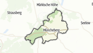 Cartina / Müncheberg
