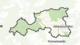 Mapa / Adelmannsfelden