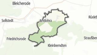 Mapa / Großlohra
