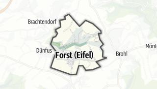 Karte / Forst (Eifel)