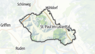 Karte / Sankt Paul im Lavanttal