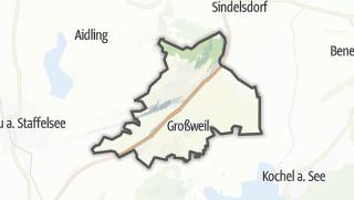 Karte / Großweil