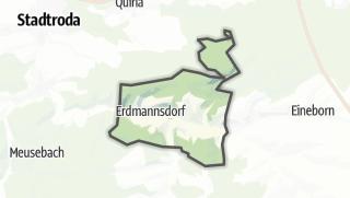 Karte / Lippersdorf-Erdmannsdorf