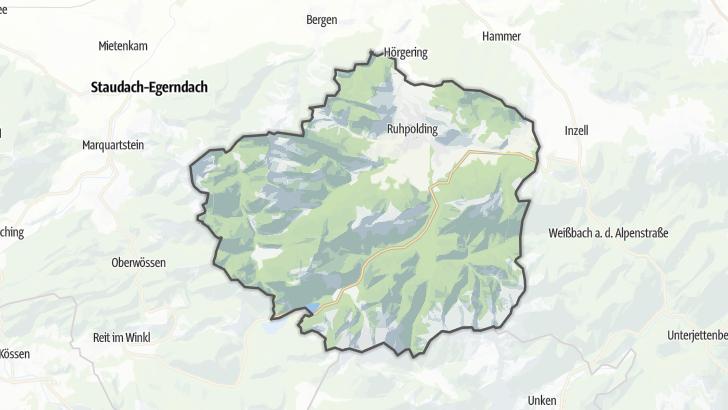 Map / Ruhpolding
