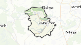 地图 / Niedereschach