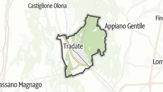 Mapa / Tradate