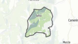 Hartă / Sefro