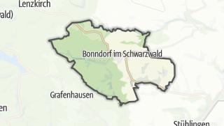Mapa / Bonndorf im Schwarzwald