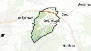 Mapa / Großholbach