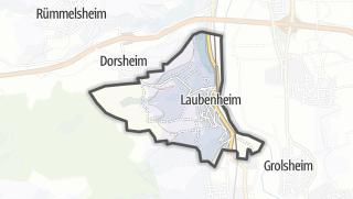 Karte / Laubenheim