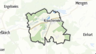 Mapa / Krauchenwies