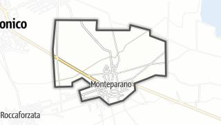 Térkép / Monteparano
