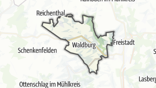 Carte / Waldburg