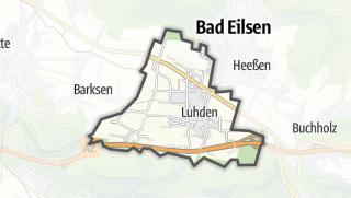 Mapa / Luhden