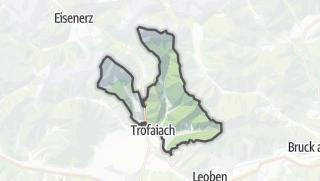 מפה / Hafning in Trofaiach