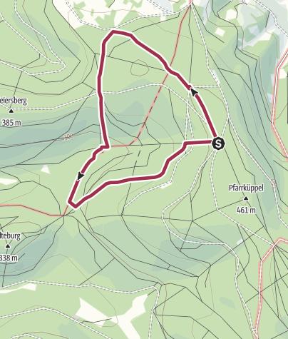 Karte / Rundweg 14 - Feuchtbiotop Eschenkar Bad Orb